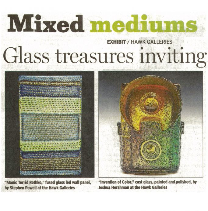 Columbus Dispatch Article - Treasures Inviting, Diverse