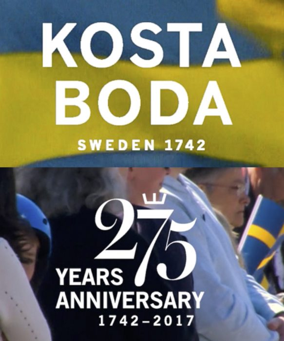 Kosta Boda 275 Years Anniversary Video